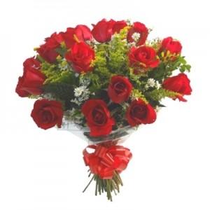 SF-051 - Buquê de rosas vermelhas