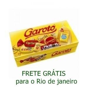 CAIXA DE BOMBONS DA GAROTO