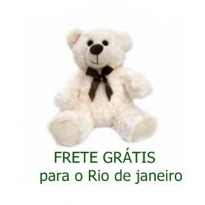 URSO DE PELUCIA BRANCO